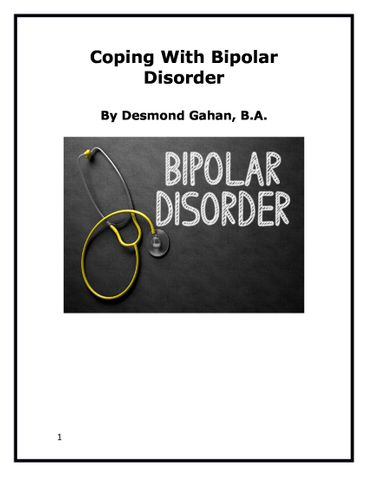 Coping With Bipolar Disorder