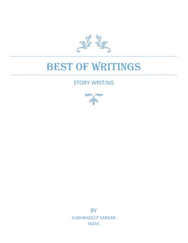 Best of Writing : Story Writing