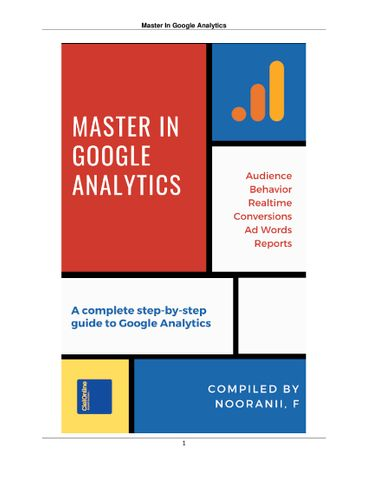 Master In Google Analytics