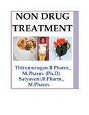 Non drug treatment/Non pharmacological treatment