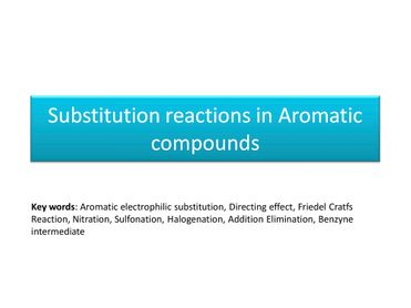 Reaction Mechanism in Organic Chemistry