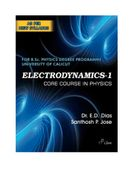 Electrodynamics-1