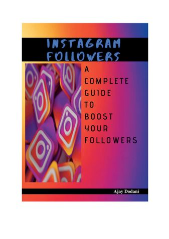 Instagram followers - A complete guide to boost your followers