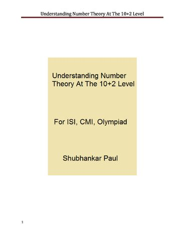 Understanding Number Theory At The 10+2 Level