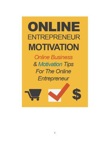 online entrepreneurs motivation