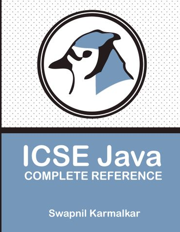 ICSE Java Complete Reference