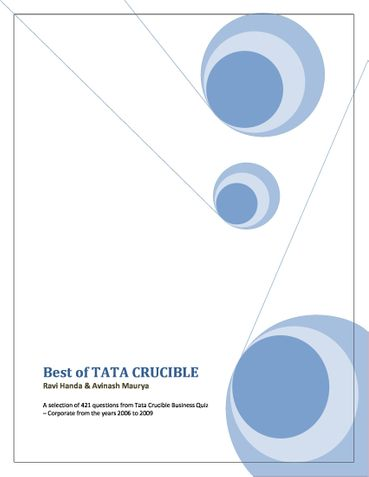 Best of Tata Crucible