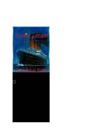 Titanic Update