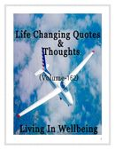 Life Changing Quotes & Thoughts (Volume 162)