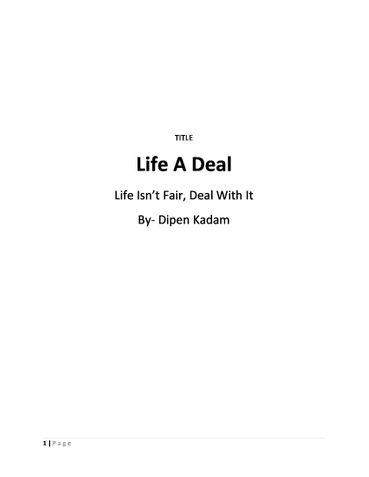 Life A Deal