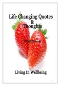 Life Changing Quotes & Thoughts (Volume 74)