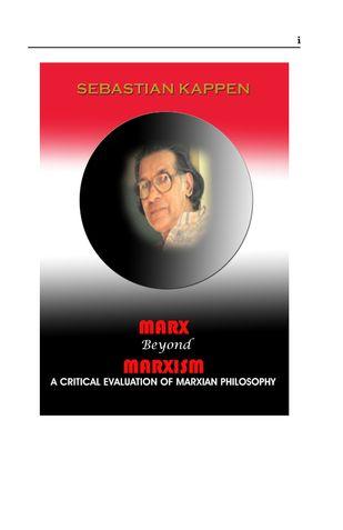 Marx Beyond Marxism