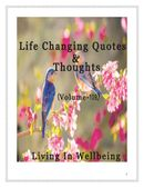 Life Changing Quotes & Thoughts (Volume 109)