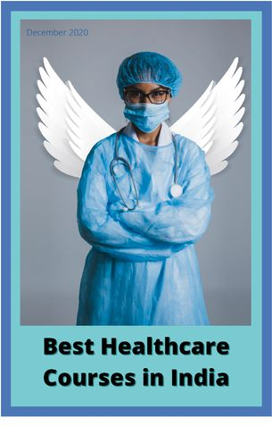 best healthcare courses in india