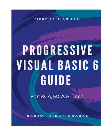 Progressive Visual Basic 6 Guide