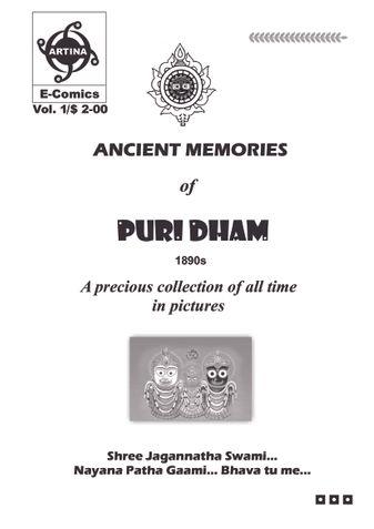 Ancient Memories of Puri Dham