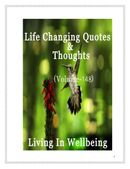 Life Changing Quotes & Thoughts (Volume 148)