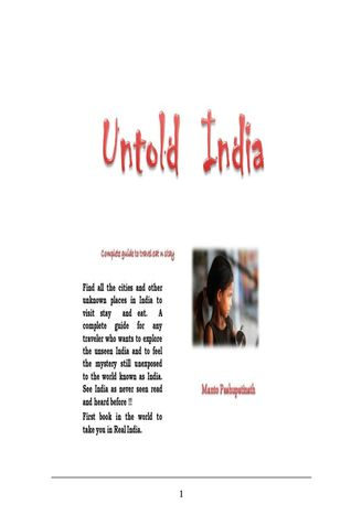 Untold India