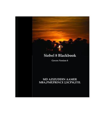 Siebel 8 Blackbook