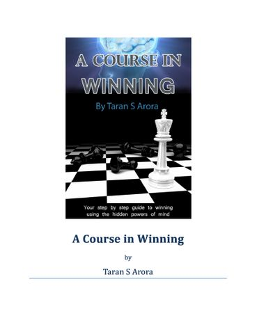 A Course in Winning