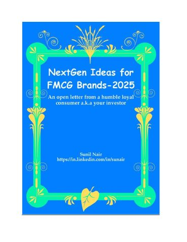 NextGen Ideas for FMCG Brands