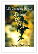 Life Changing Quotes & Thoughts (Volume 33)