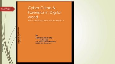 Cyber Crime & Forensics in Digital world