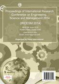 Proceedings of IRCESM 2014