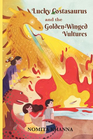 LUCKY COSTASAURUS and the Golden-Winged Vultures
