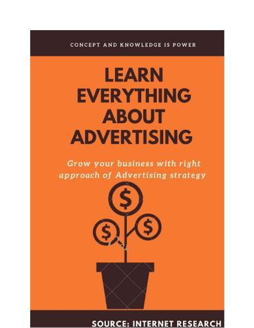 Learn everything about Advertising