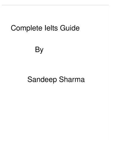 Ielts complete guidance