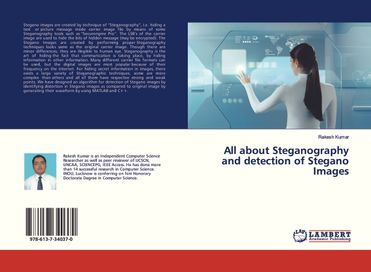 All About Steganography And Detection Of Stegano Images