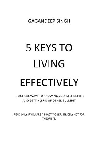 5 Keys to Living Effectively