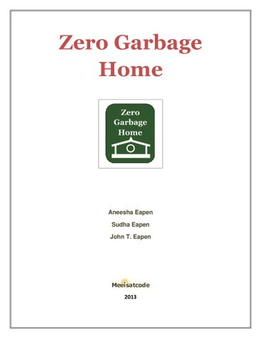 Zero Garbage Home