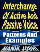 Interchange of Active and Passive Voice