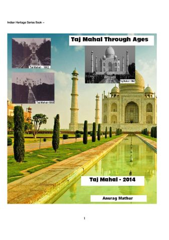 Taj Mahal Through Ages