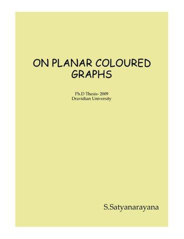 ON PLANAR COLOURED GRAPHS