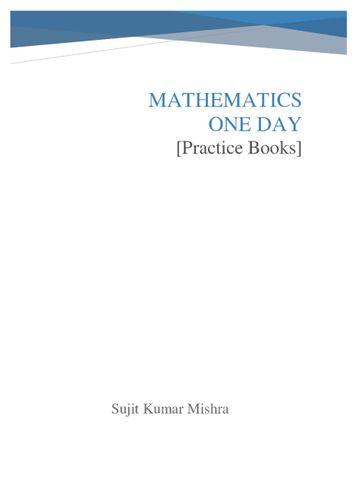 Mathematics One Day