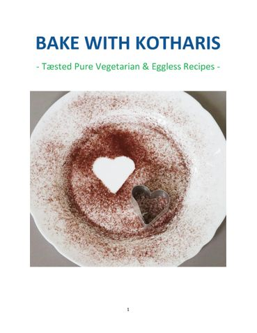 BAKE WITH KOTHARIS