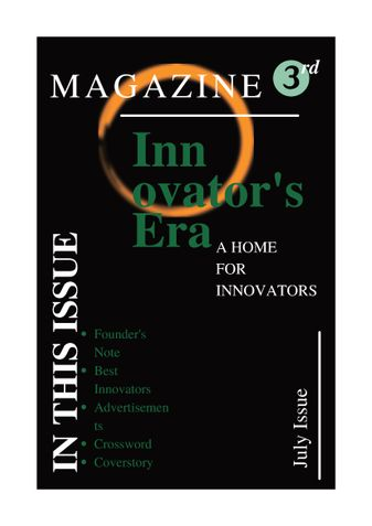 Innovator's Era
