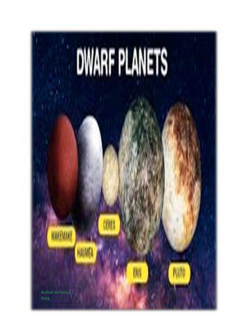 Solar System - The Dwarf Planets