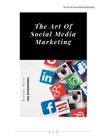 The Art Of Social Media Marketing
