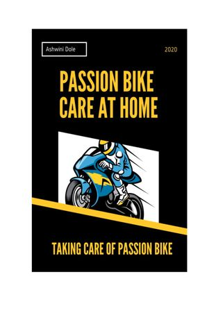 Passion Bike Care at Home