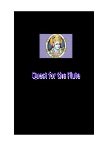 Quest for the Flute