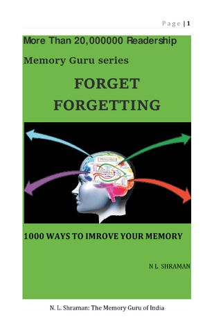 Forget Forgetting