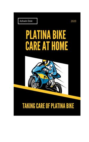 Platina Bike Care at Home
