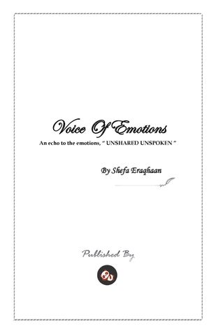 VOICE OF EMOTIONS