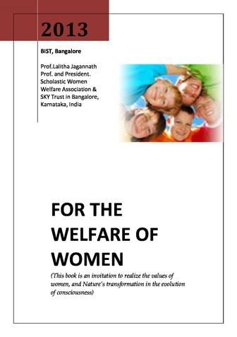 For the Welfare of Women