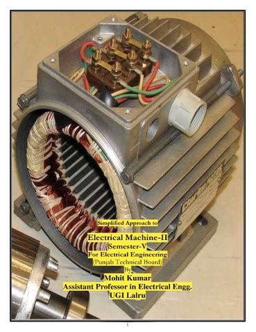Electrical Machine-II