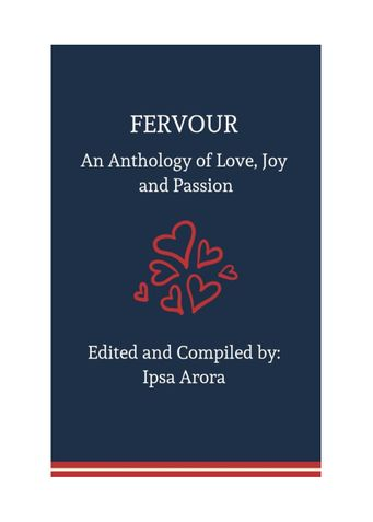 Fervour- An Anthology of Love, Joy and Passion